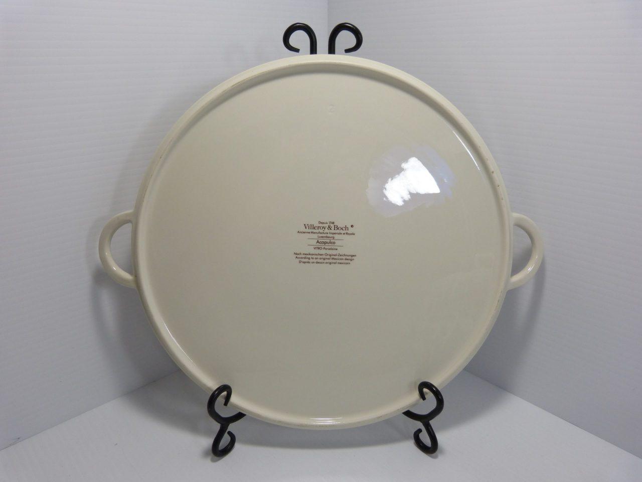"Villeroy & Boch Acapulco 12"" Chop Plate (Round Platter)"