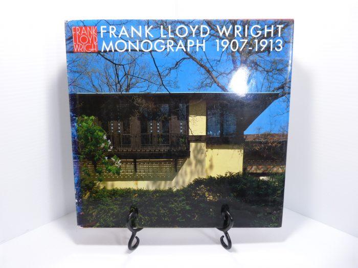 Frank Lloyd Wright Monograph Vol. 3 1907-1913 Hardcover