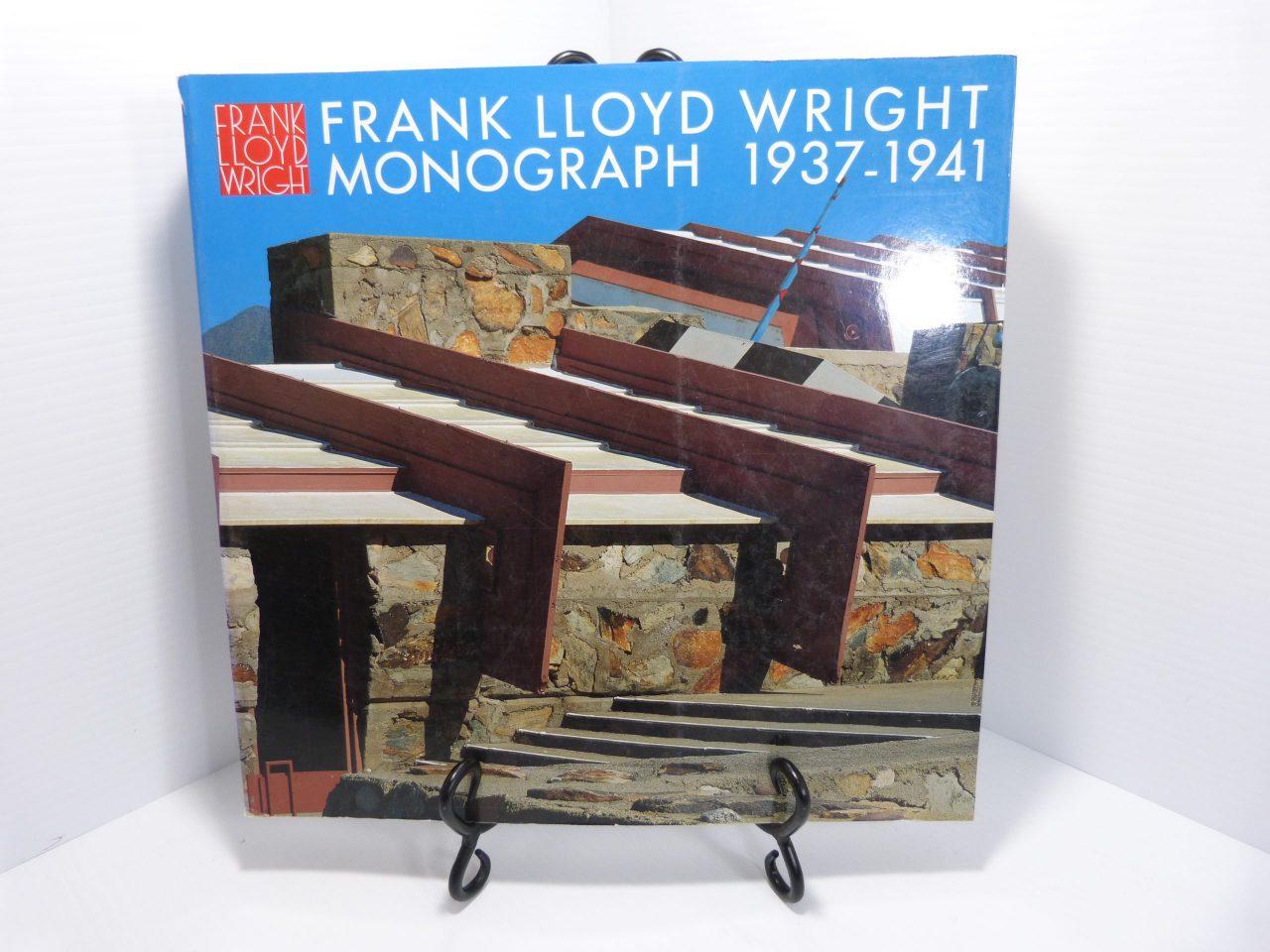Frank Lloyd Wright Monograph Vol. 6 1937-1941 Softcover