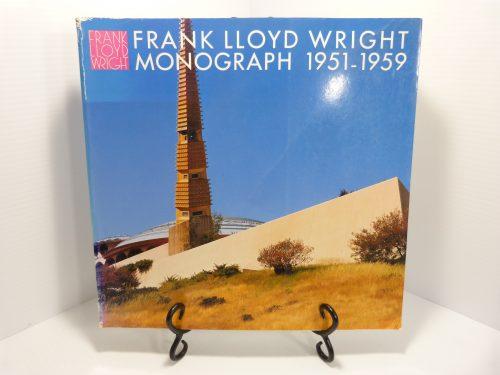 Frank Lloyd Wright Monograph Vol. 8 1951-1959 Softcover