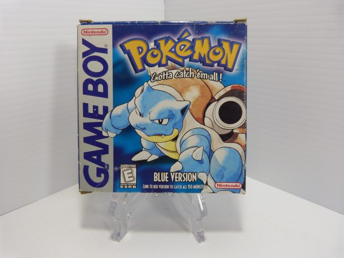 Pokemon Blue Game Boy Includes Box & Manual