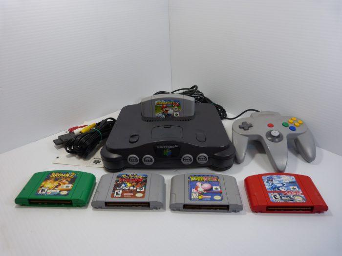 Nintendo 64 Mario Kart 64 Bundle Tested Works.