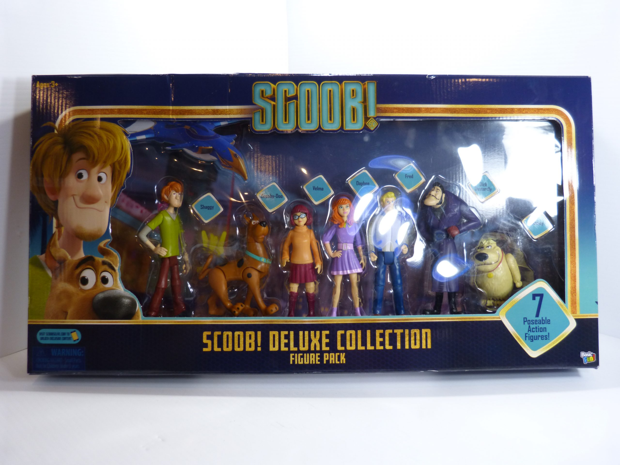 Scoob! Deluxe Collection 7 Figure Pack NIB