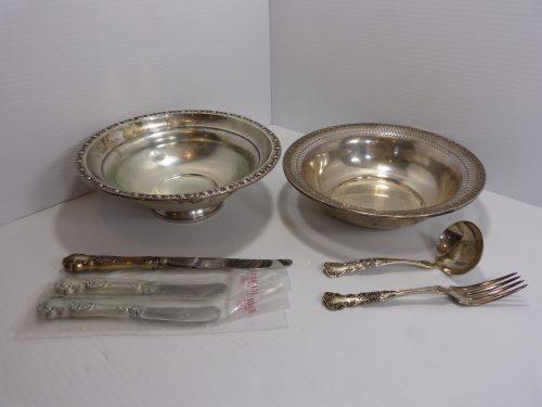 Mixed Lot Of Silver Kitchen & Serveware