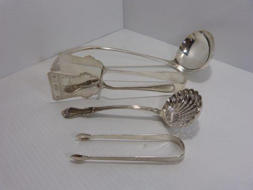 Mixed Lot Of Silver Hallmarked Kitchen & Serveware
