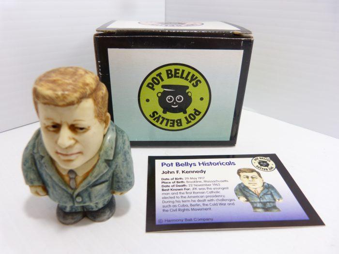 Pot Bellys Historicals John F. Kennedy Figurine MB