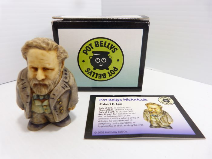 Pot Bellys Historicals Robert E. Lee Figurine NIB