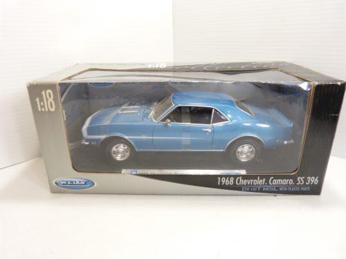Welly 1968 Chevrolet Camaro SS 396 Blue Diecast