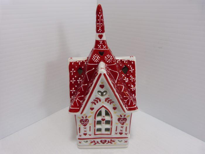 Villeroy & Boch Scandinavia Decolightss Red and White Church