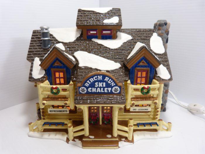 """Department 56 The Original Snow Village """"Birch Run Ski Chalet"""""""