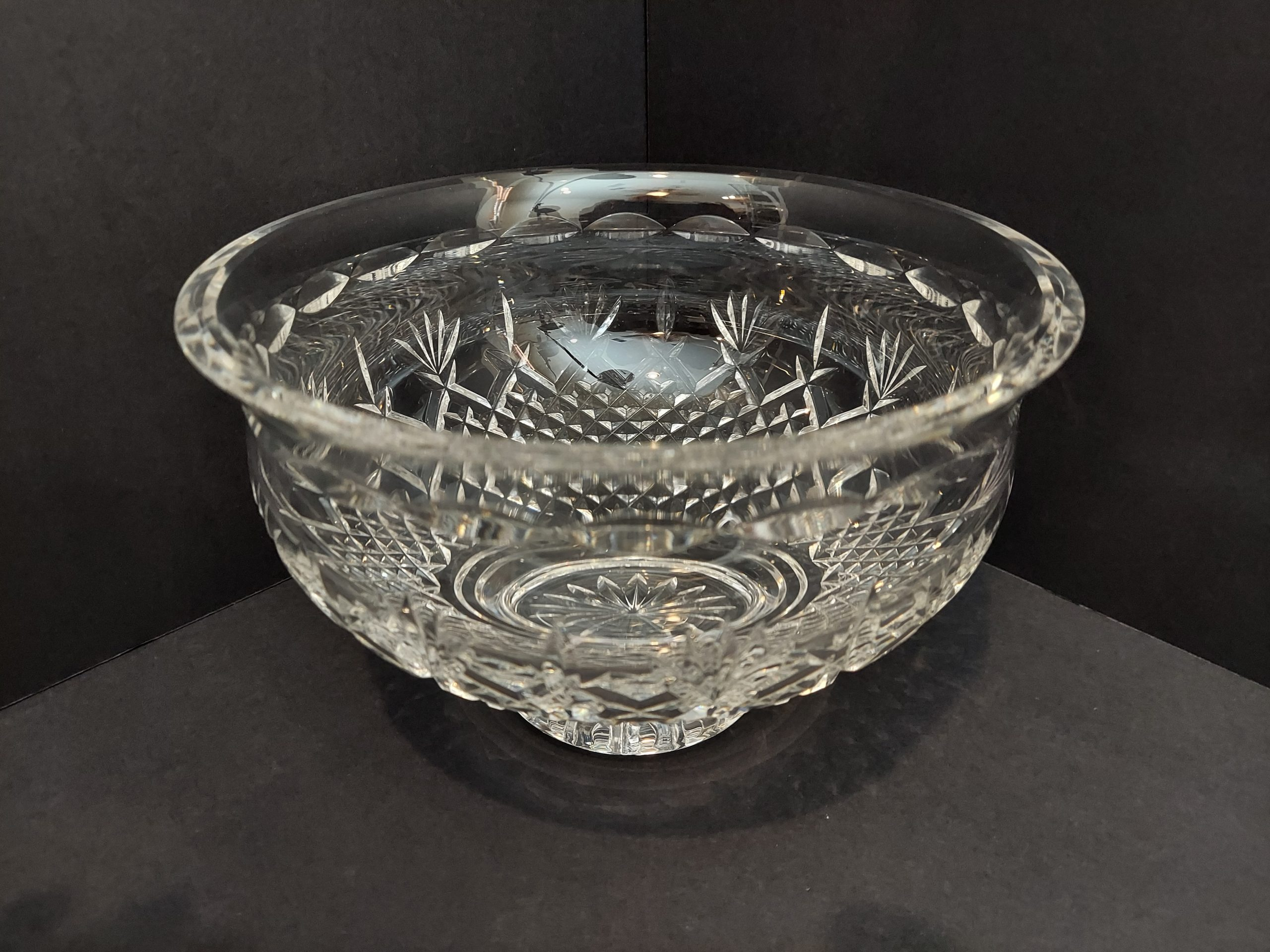 """Waterford 8"""" Footed Bowl Killarney"""