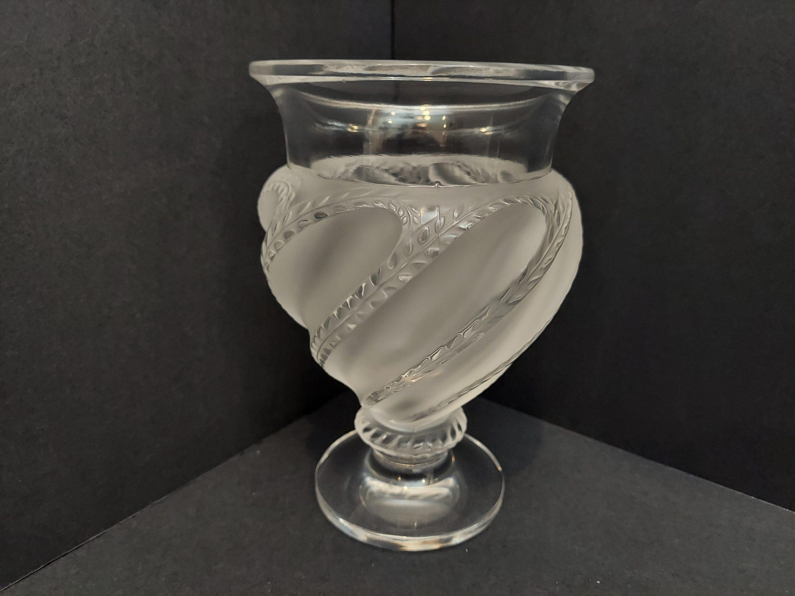 Lalique Ermenonville Vase - Signed