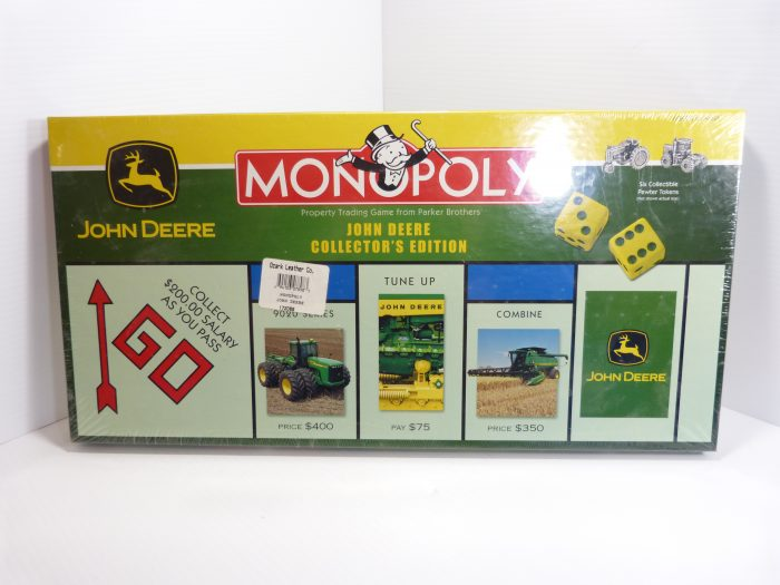John Deere Monopoly Collector's Edition New In Box