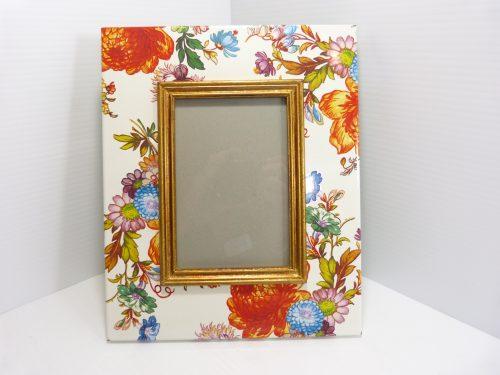 """Mackenzie Childs Flower Market Picture Frame 4""""x6"""""""