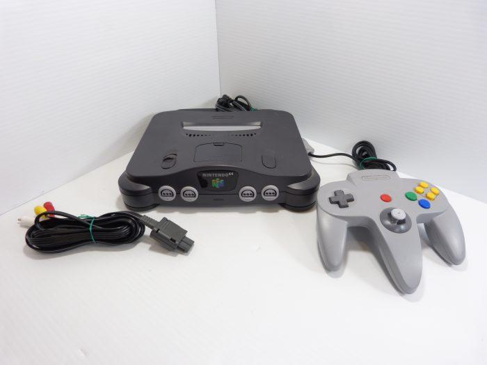Nintendo 64 Console + Controller with AV Cord