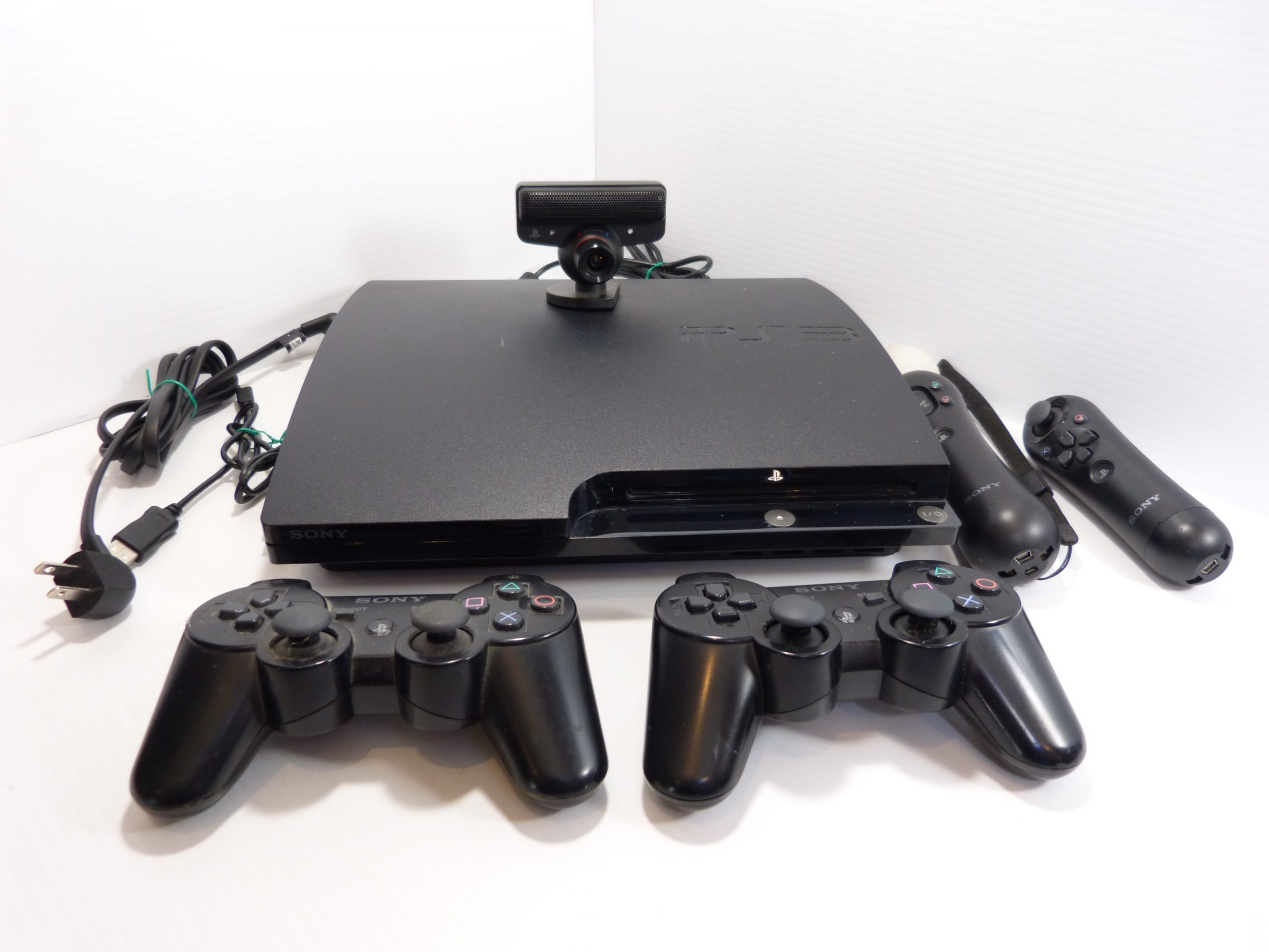 Sony Playstation 3 PS3 120Gb Bundle CECH-2001A TESTED