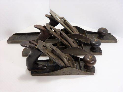 Vintage Stanley Bailey Hand Planes No. , 5, & 7