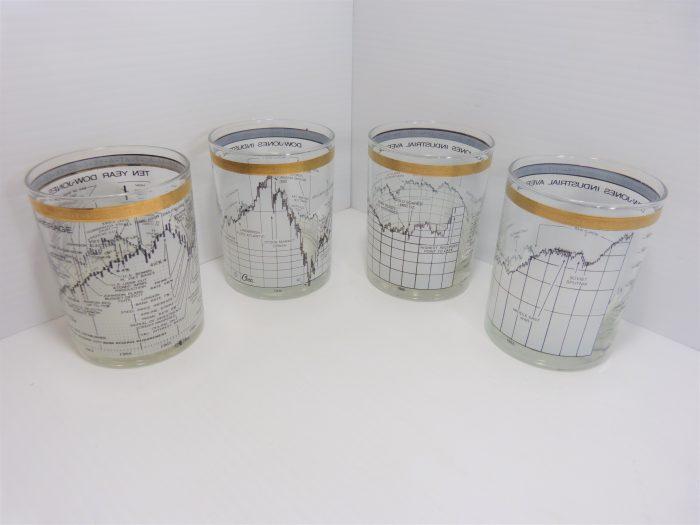 Dow Jo Glasses Set of 4 Cera