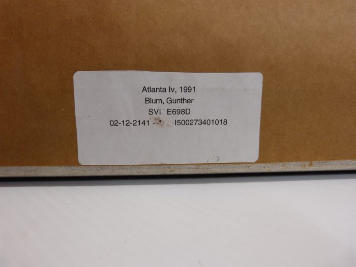 "Günter Blum ""Atlanta IV"" Photographic Print"