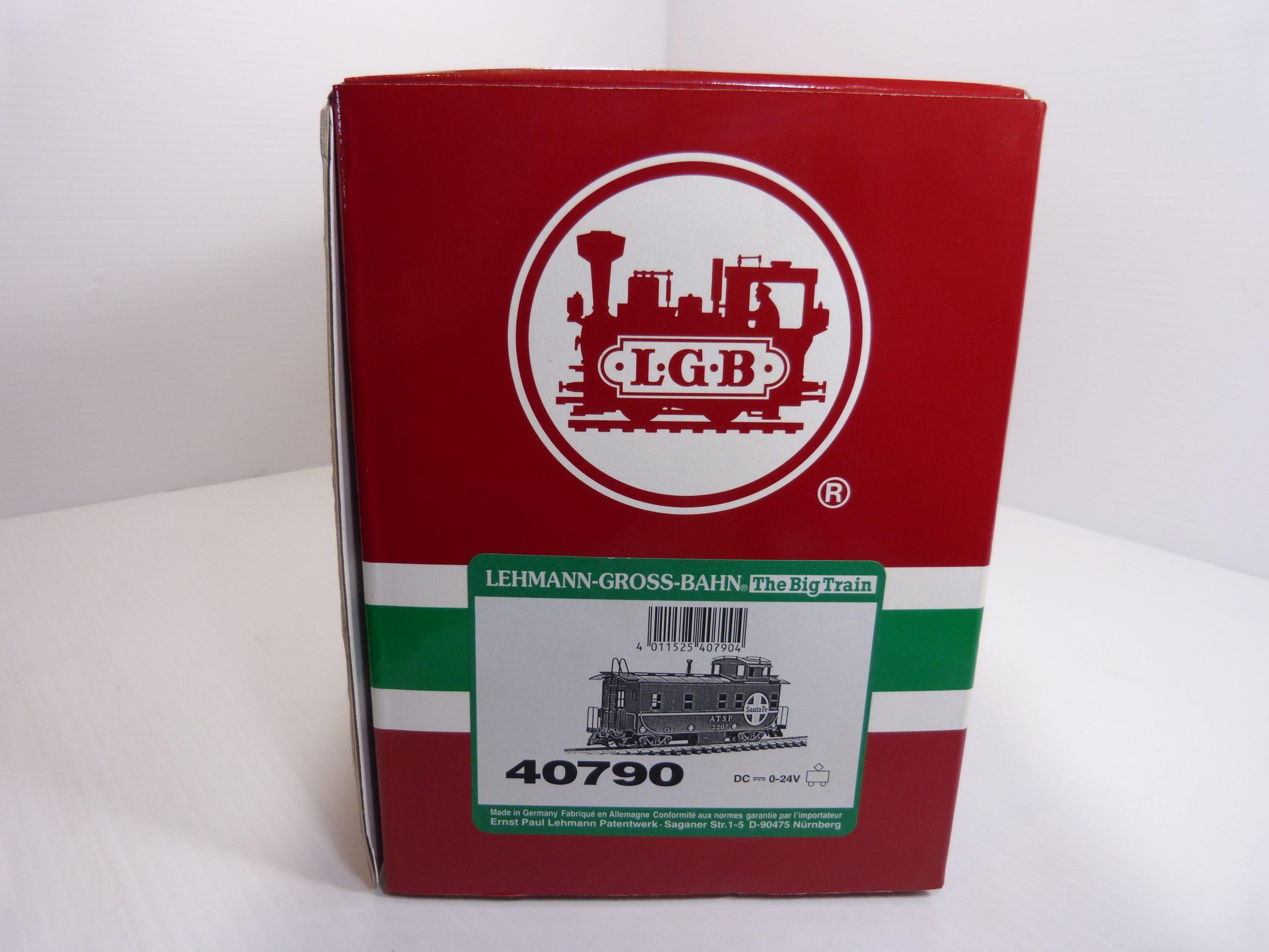 LGB 40790 Santa Fe Caboose New In Box