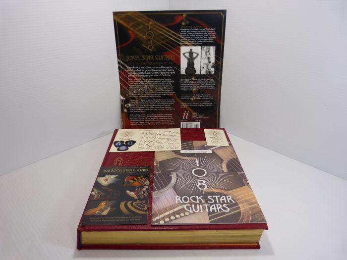 108 Rock Star Guitars - Johnson (2013, Hardcover) SIGNED