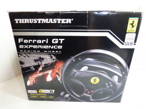 Thrustmaster Ferrari GT Experience Racing Wheel PS3 PC NIB