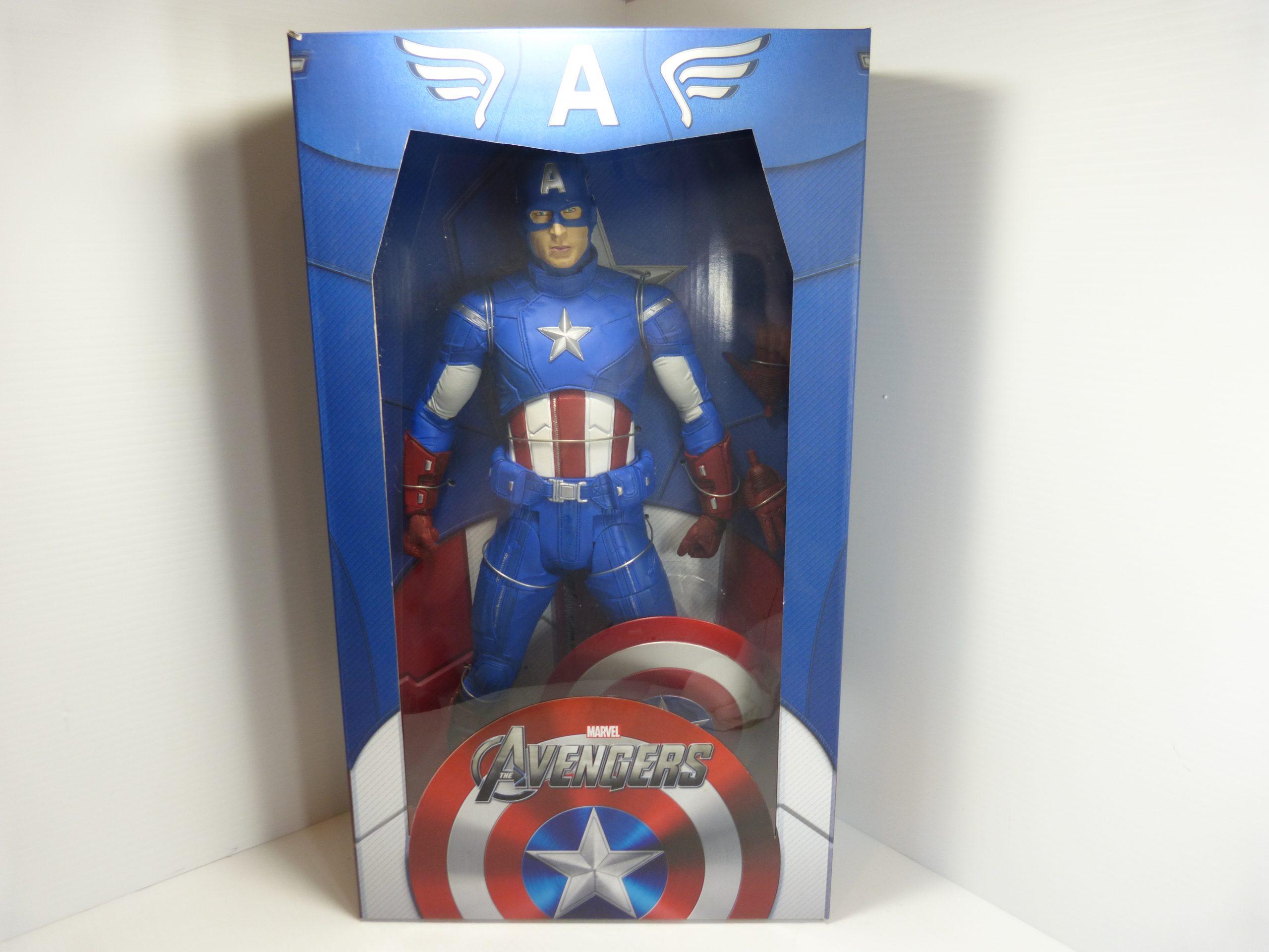 "Avengers Captain America Neca 1/4 Scale 18"" NIB"